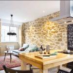 cocina-salon-piedra